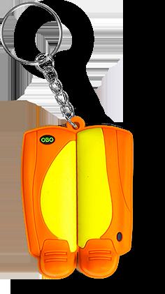 OBO Key Ring – Legguards Geschenke