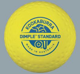 Kookaburra Dimple Standard Yellow Bälle