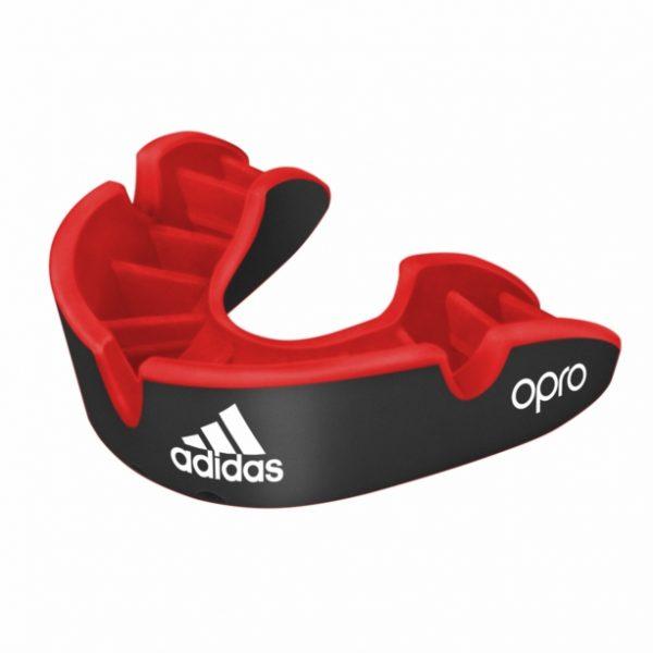 adidas OPRO Zahnschutz Silver schwarz