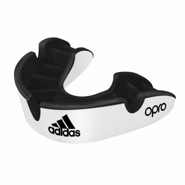 Adidas OPRO Zahnschultz Silver weiss