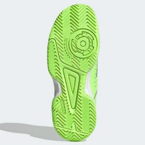 adidas Court Stabil JR grün Hallenschuhe