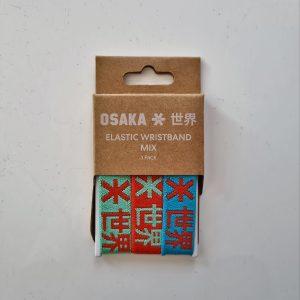 Osaka Armband Elastisch 3er Set Armbänder